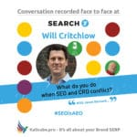Will Critchlow #SEOisAEO Search_Y_Paris